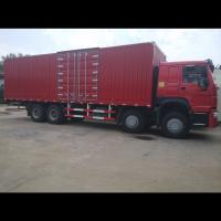 Quality Small Cargo Truck 336HP 371HP 8x4 12 Tires Stake Side Wall Box Cargo Truck for sale