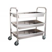 Quality Multi Layer Bakery Rack Trolley Food Cart Four Wheels For Kitchen Practical Use Push Smoothly for sale