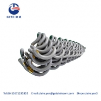 Quality 6mm Aerial Fiber Optic Cable HR Vibration Dampers for sale