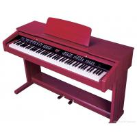 Quality Melamine Shell Red 88 Key Digital Piano , Electronic Keyboard Piano for sale