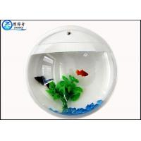 Quality Acrylic Aquarium Creative Wall Mounted Customize Wall Flowers Fish Tank for Decoration for sale