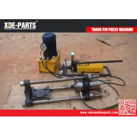 Quality 100T Portable hydraulic removal and installation tools track master pin pusher machine for sale