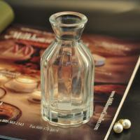Quality Diffuser Glass Perfume Bottles / Clear Glass Reed Diffuser Bottle for sale