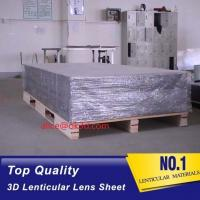 Quality PET 51X71CM 75LPI 0.45mm Lenticular Sheet with super transpancy for making Lenticular 3D Cards and Lenticular Posters for sale
