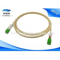 China Auto Shutter Fiber Optic Patch Cables Patch Cord Aerospace With LC Connectors on sale