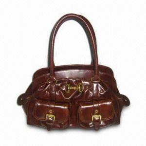 Quality Fashion Ladies' Handbag in Deep Brown for sale
