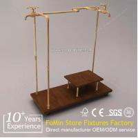 Quality closet wardrobe from China clothes hanging shelf for sale