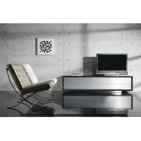 Quality Solid Aluminium Door  Wooden Television Stands , Furniture TV Stands for sale