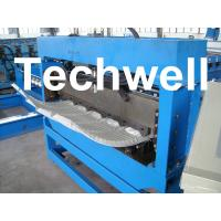 Quality 500mm Curving Radius PLC Control Bull Nose Cranking Machine To Curve IBR Sheets for sale