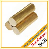 Quality copper alloy extruded casting round brass bars brass rods for sale