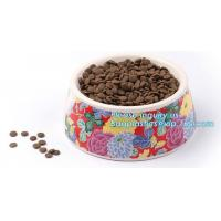 China Lovely Personalized portable pet dog food water bowl ceramic plastic, Plastic pet bowl /PP pet dish for dog /food pail f on sale