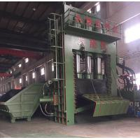 Quality PLC Operation Scrap Steel Baling Press With Manual Valve / Scrap Aluminum Baler for sale