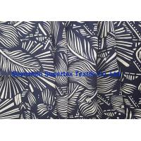 Quality Interweave Linen Cotton Poplin Beachwear with all over Reactive Printing 21*14 for sale