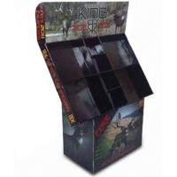 Quality Corrugated Cardboard Display Boxes , Paper LCD Cardboard Retail Displays for sale