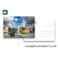 Quality Tourist Tttraction 3d Lenticular Card , Lenticular Postcard Printing Souvenir Tourist Gifts for sale
