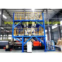 Quality Extruded Styrofoam Sheets Single Screw Extruder 200MM XPS Equipment for sale