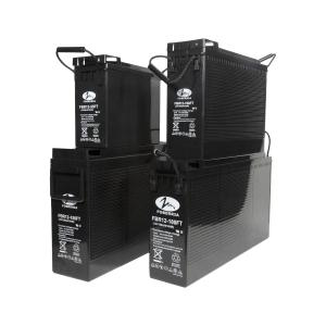 Quality 12v 55ah 180AH Front Terminal Battery for sale