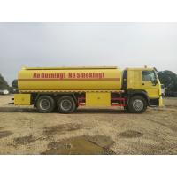 China Industrial Fuel Oil Tanker Trailer / Radial Tyre Stainless Steel Tank Trailer for sale
