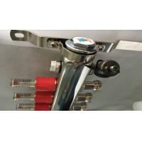 Buy Floor Single Zone Underfloor Heating Manifold 5 Ways With 2 Manual Drain Valve at wholesale prices