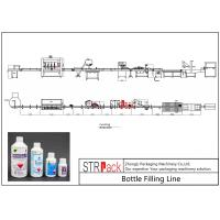Quality Agrochemica Bottle Filling Line / High Speed Liquid Pesticide Filling MachineLine for sale