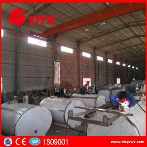 Quality Industrial Stainless Milk Tank Milk Cooler Tank Full Automatic 380v / 220v / 425v for sale