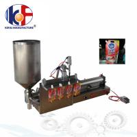 Quality reasonable  stand up cold fruit juice stand up bags with spout filling machine  made in china for sale
