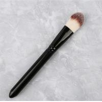 Quality Single Liquid Foundation Brush Black Handle Color OEM / ODM Accepted for sale