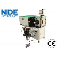Quality Industrial Automatic Stator Winding Lacing Machine PLC programming Horizontal for sale
