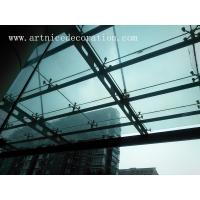 Quality Curtain tempered glass , Curtain toughened glass, Curtain horizontal / toughened glass for sale