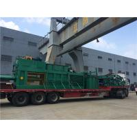 Quality Semi - Automatic Waste Plastic Baler Machine With Manual Strapping for sale