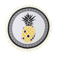Quality Gypsy Pineapple Lightweight Circle Beach Towel for sale