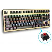 Quality Human Ergonomic design Greetech Switch Led Backlight Keyboard with 87 Keys for gaming for sale