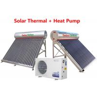 Quality Durable Solar Thermal Water Heater , Safety Hybrid Heat Pump Water Heater for sale