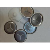 Buy cheap 3 Slots Washers, 38mm Stainless Steel Clip with Plastic Cap for Fixing Weld Pins from wholesalers