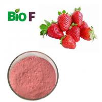 China Water Solube Fruit Extract Powder Strawberry Extract Powder  For Health Care on sale