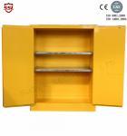Double Door Chemical Storage Cabinet Lockable For Indoor , 45 Gallon