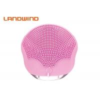 Quality Battery Powered Deep Cleansing Handheld Waterproof Face Scrubber for sale