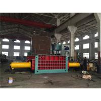 Quality 135 Kw Motor Hydraulic Baling Press Machine Cuboid Block Scrap Metal for sale