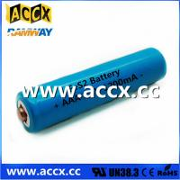 Quality Shaver Battery LiFeS2 AA lithium battery 1.5V 1100mAh for sale