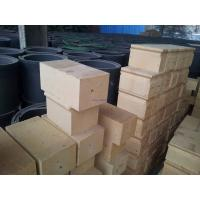 Quality High Softening Point Silica Brick Refractory For Glass Furnace , Hot-blast Stove for sale