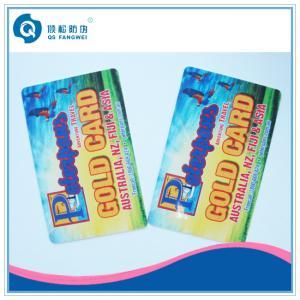 Quality Hot Stamping Waterproof Plastic Card Printing , Full Color Membership Card for sale