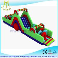Quality Hansel affordable playground equipment,obstacle sport game indoor and outdoor for sale