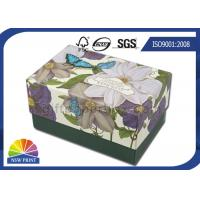 Quality Small Hard Paperboard Luxury Gift Box Packaging For Bath Bomb / Soap / Candle for sale