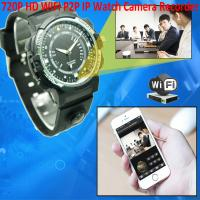 Quality Y30 8GB 720P WIFI P2P IP Spy Watch Hidden Camera Recorder IR Night Vision Motion Detection Remote Video Monitoring for sale