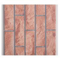 Quality X Hollow Core Structure Plastic Brick Wall Panels , Decorative Plastic Wall Covering Sheets for sale