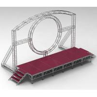 Quality DMX One Channel Aluminum Rotary Circle Stage Llighting Truss For Dj Moving Head LED for sale