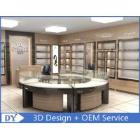 Quality Round Glasses Jewellery Shop Counter Design Manufacturers for sale