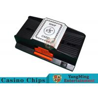 Quality 1 - 2 Decks Playing Card Shuffler Suitable For Wide Plastic Poker Cards for sale