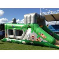 China Fantastic Aztec Adventure Assault Rent Inflatable Obstacle Course Bounce House For Adult on sale