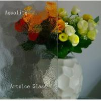 Buy 3mm to 8mm Aqualite Patterned Glass, Rolled Glass, Figured Glass with Certificate ISO and BV at wholesale prices